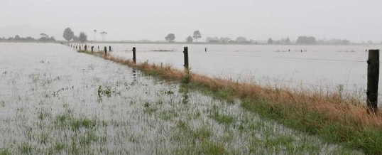 Watery worries over low laying land